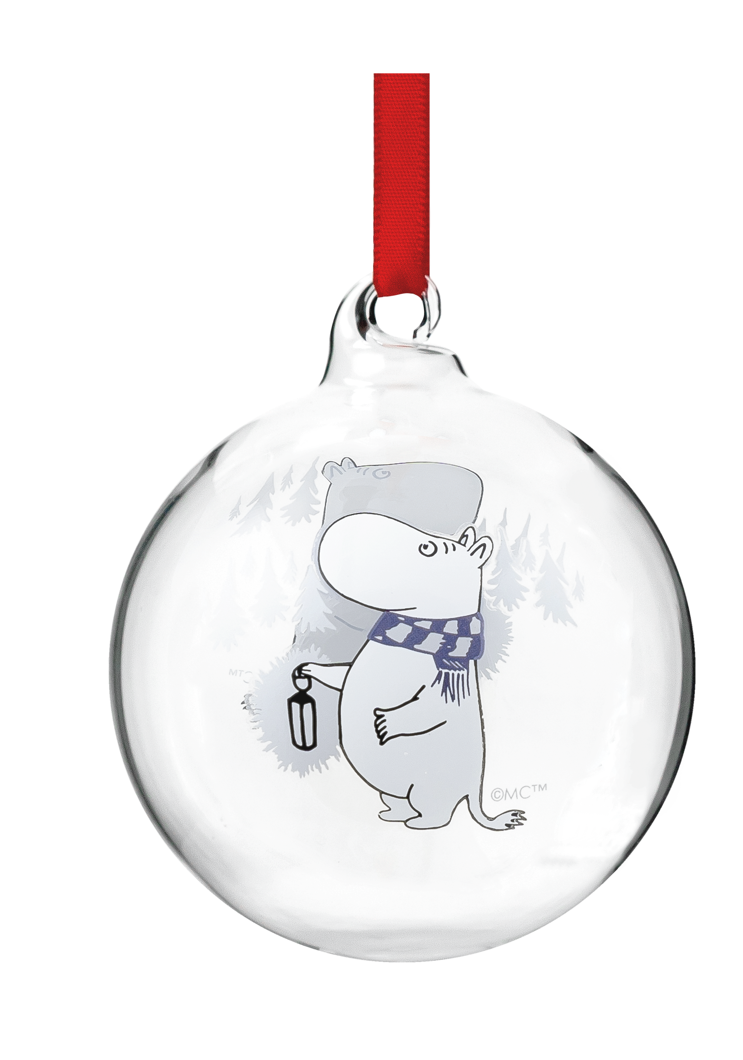 Moomin by Muurla Moomin decoration ball 7 cm