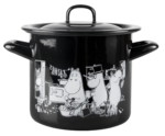 Muurla Moomins in the kitchen enamel pot 1,5L