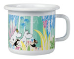 Muurla Moomins in the Jungle enamel mug 2,5 dl