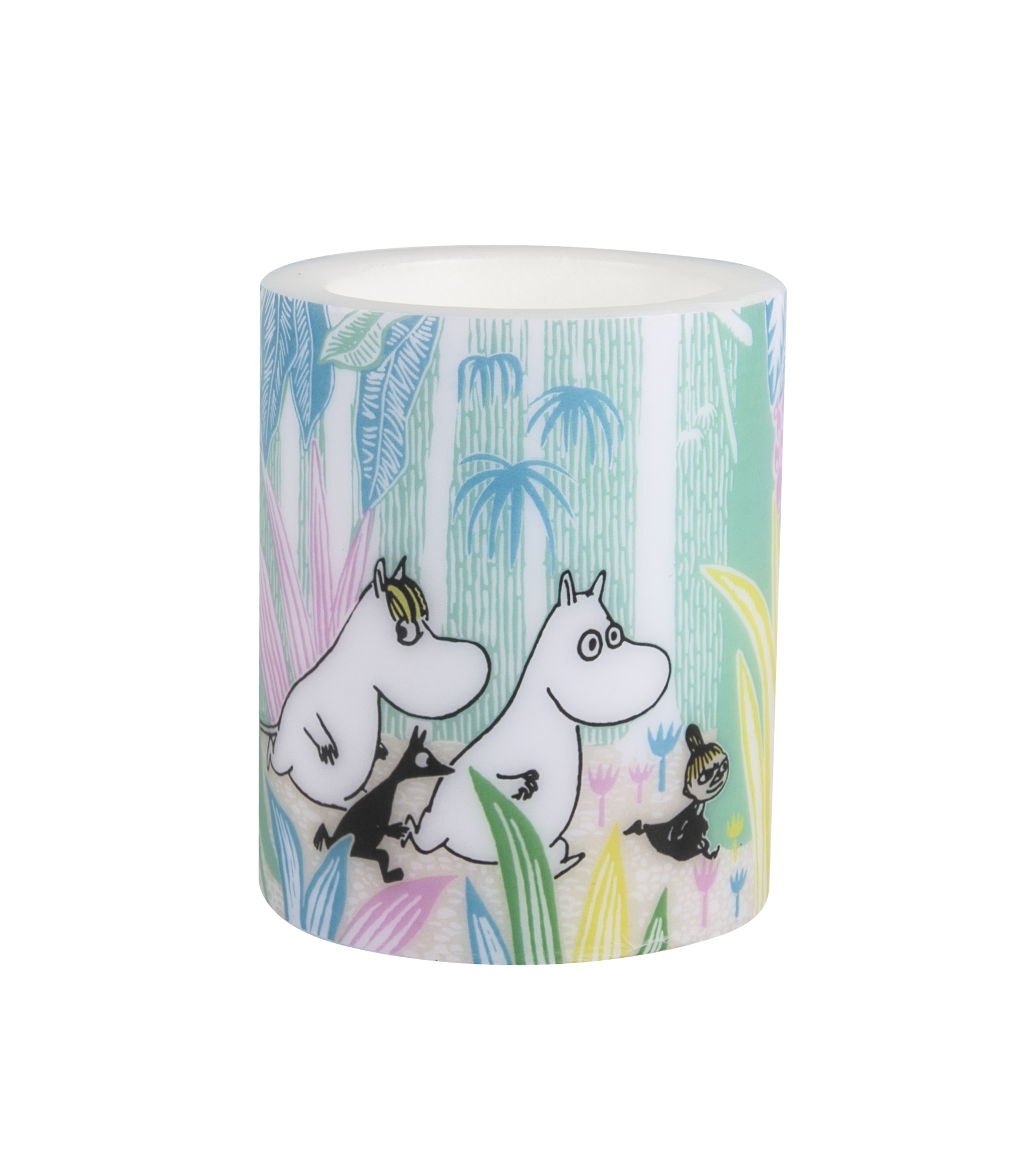 Muurla Moomins in the Jungle candle 12cm
