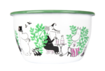 Muurla Moomin Garden - Day in the garden enamel bowl 2 L