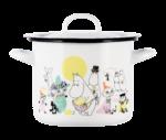 Moomin by Muurla Juhlat! K-Citymarket 50 years enamel pot 2,5 L