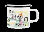 Moomin by Muurla Juhlat! K-Citymarket 50 years enamel mug 3,7 dl