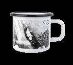 Moomin Museum enamel mug 3/2020 3,7 dl