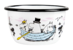 Muurla Moomin Sea Adventure enamel bowl 3 dl
