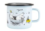 Muurla Moomin Sea Adventure enamel mug 2,5 dl - light blue