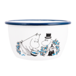 Moomin by Muurla Blueberries enamel bowl 6 dl