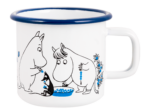 Moomin by Muurla Blueberries enamel mug 3,7 dl