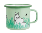 Moomin by Muurla In the Garden - Boys enamel mug 2,5 dl