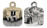 Moomin by Muurla Shadows Chop & serve 25x32 cm