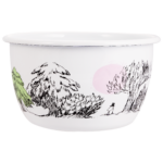 Moomin Originals by Muurla Just wandering enamel bowl 2 L