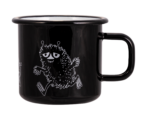 Moomin by Muurla Retro Stinky enamel mug 3,7 dl