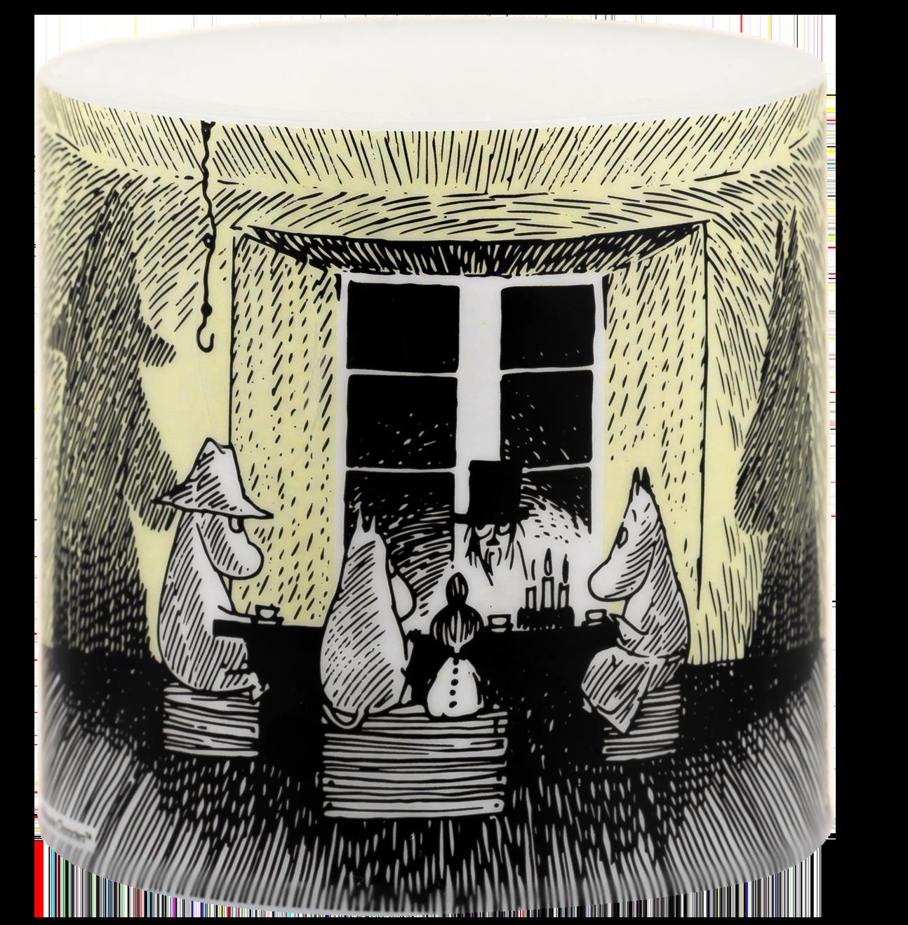 Moomin Originals by Muurla Shadows candle 8 cm
