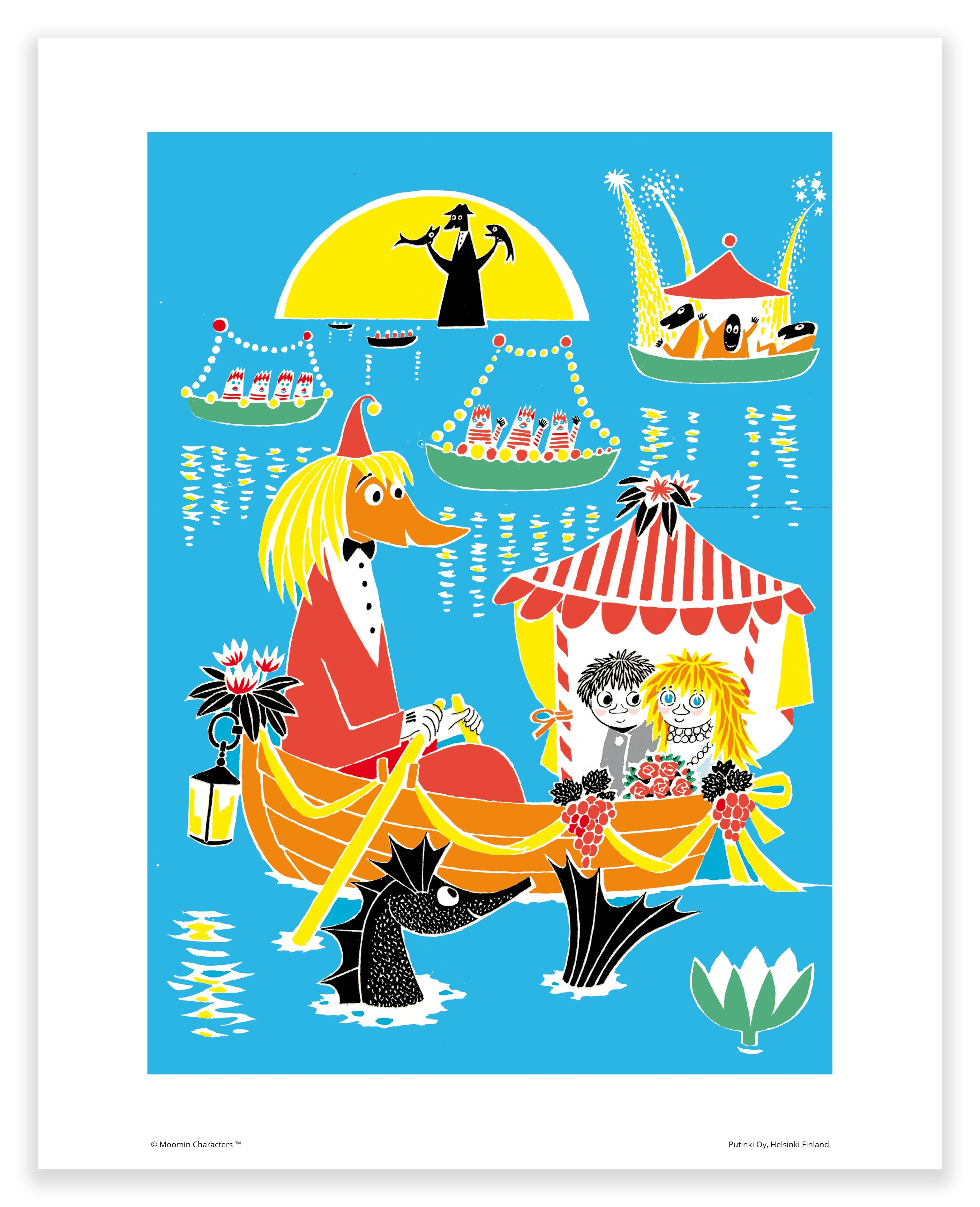 Putinki Poster Toffle And Miffle