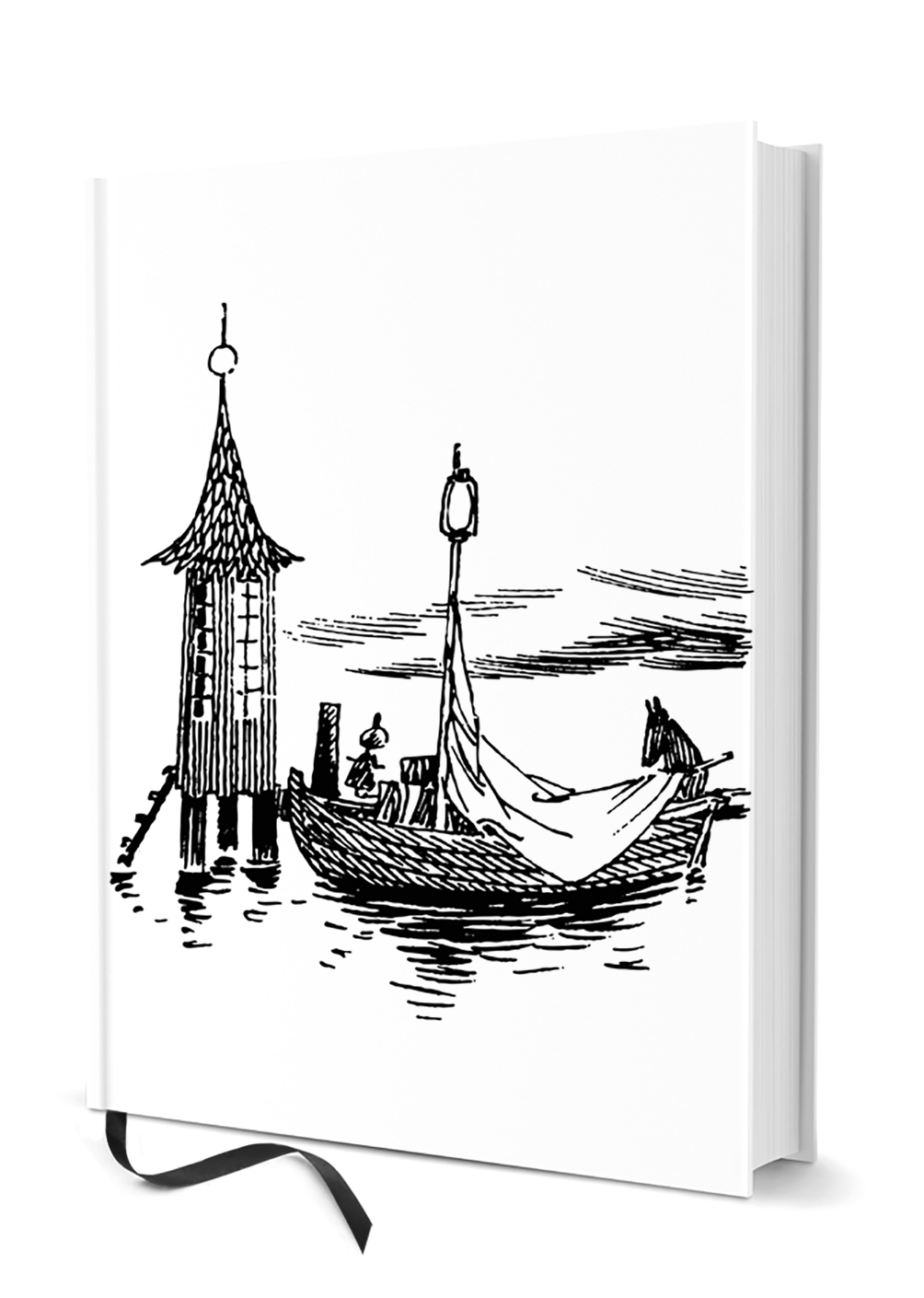 Putinki Hardcover Notebook To the sea