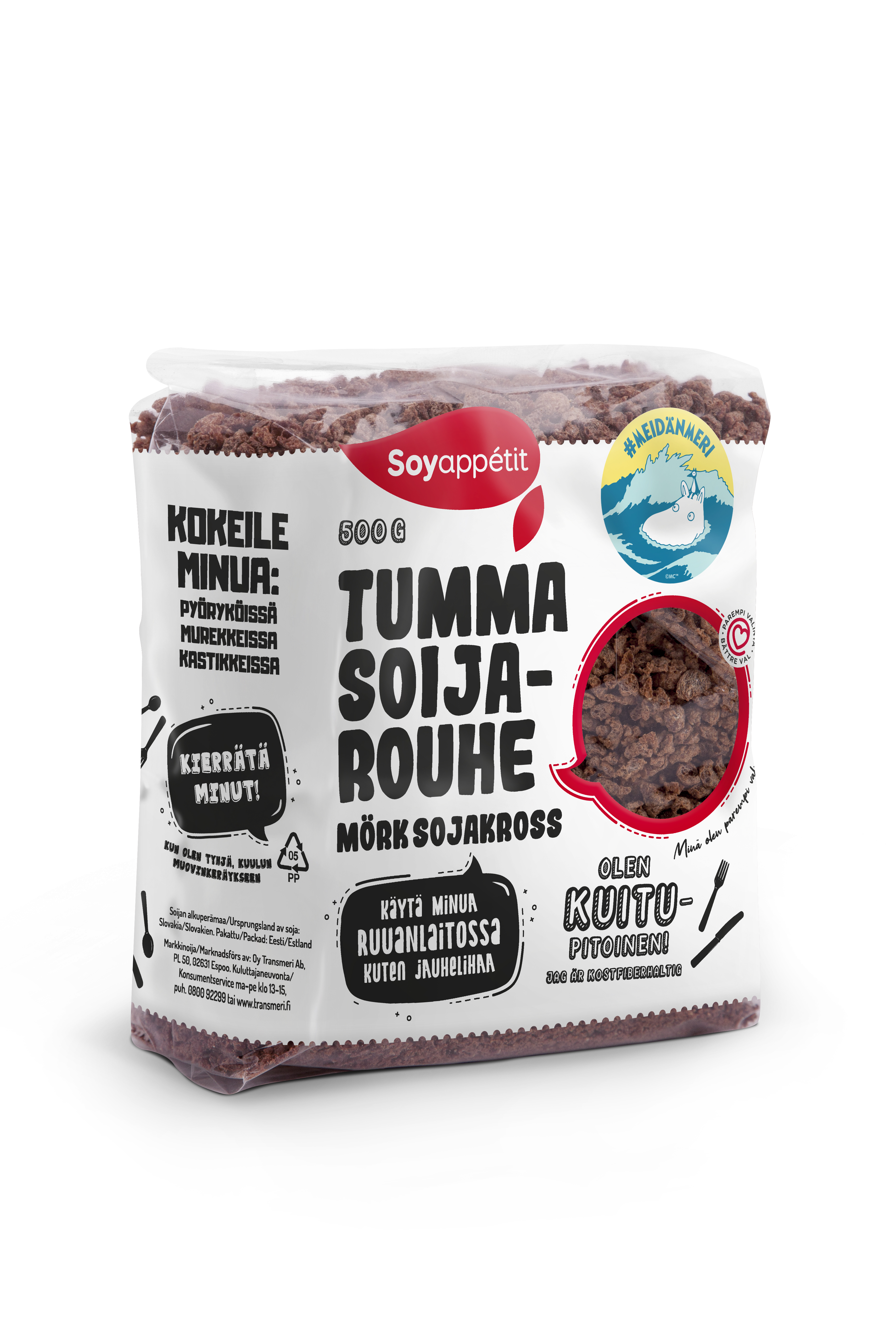 Soyappétit Dark soy protein granules 500g