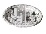 Suomen Kerta Oy Comic Moomin Paper Plate