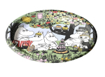 Suomen Kerta Oy Party Moomin paper plate