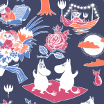 Suomen Kerta Oy Magic Moomin napkin