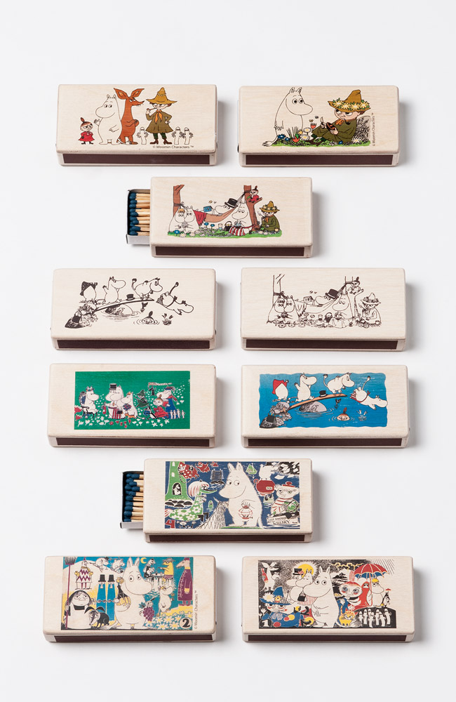 Isoisan Puulelut Matchboxes, 10 different
