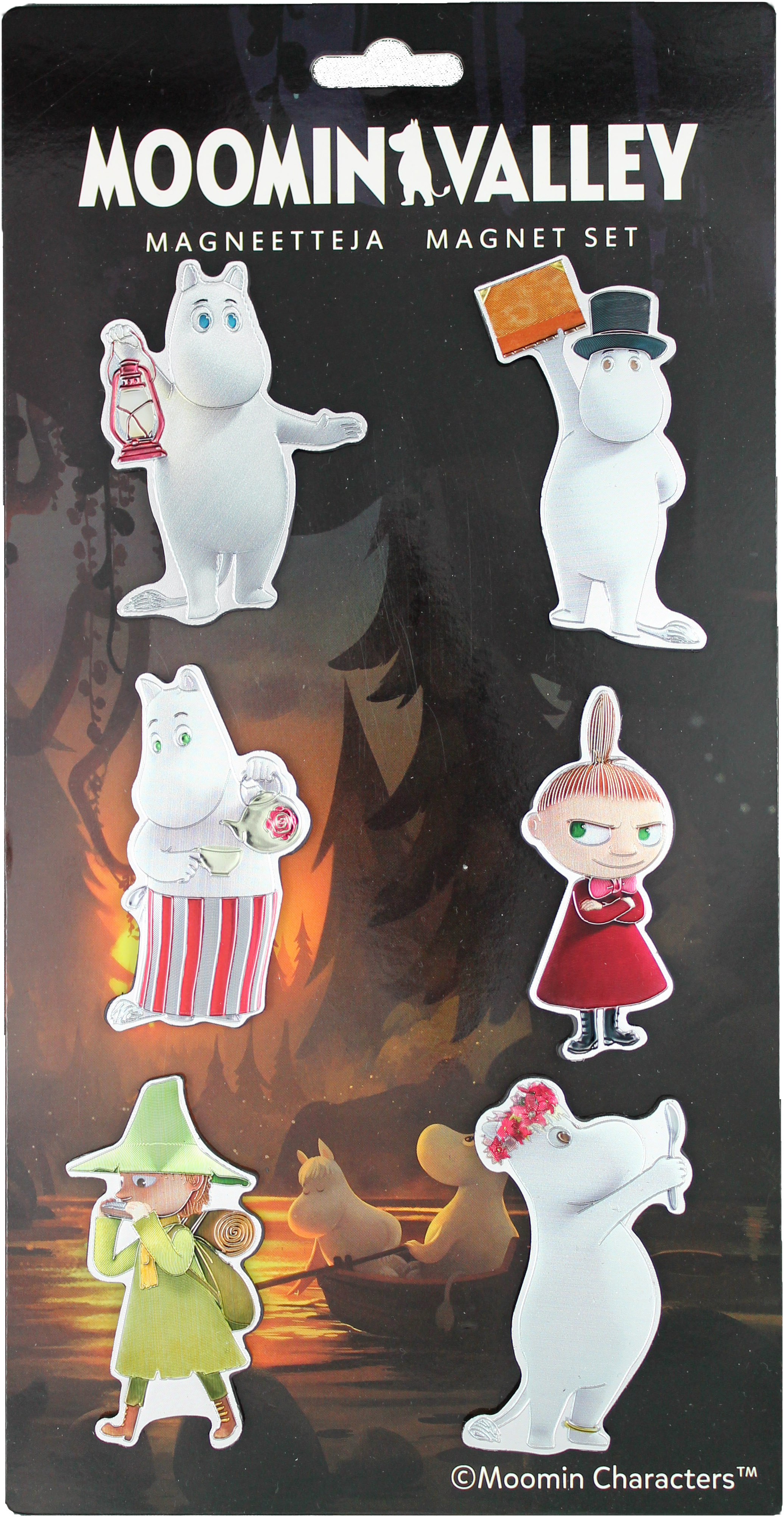 TMF Trade Moomin Magnet Set