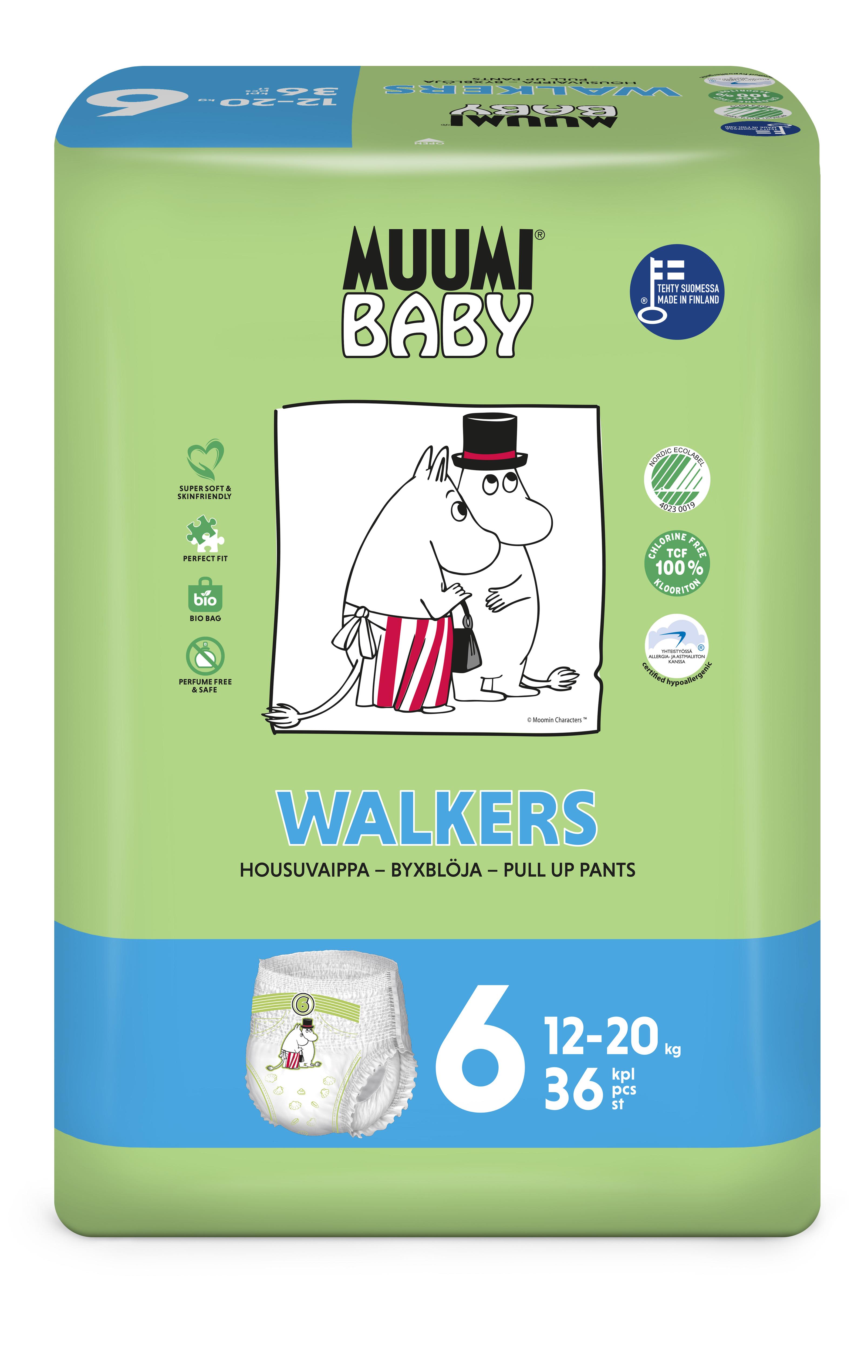 Delipap Muumi Baby Walkers 6