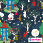 Stofflykke - Apple Garden - Fabric