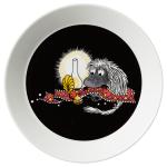by Arabia Moomin plate 19cm Ancestor black