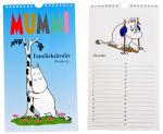 Baccara Moomin calendar