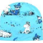 Stofflykke - Flower Field Aqua Moomin hat