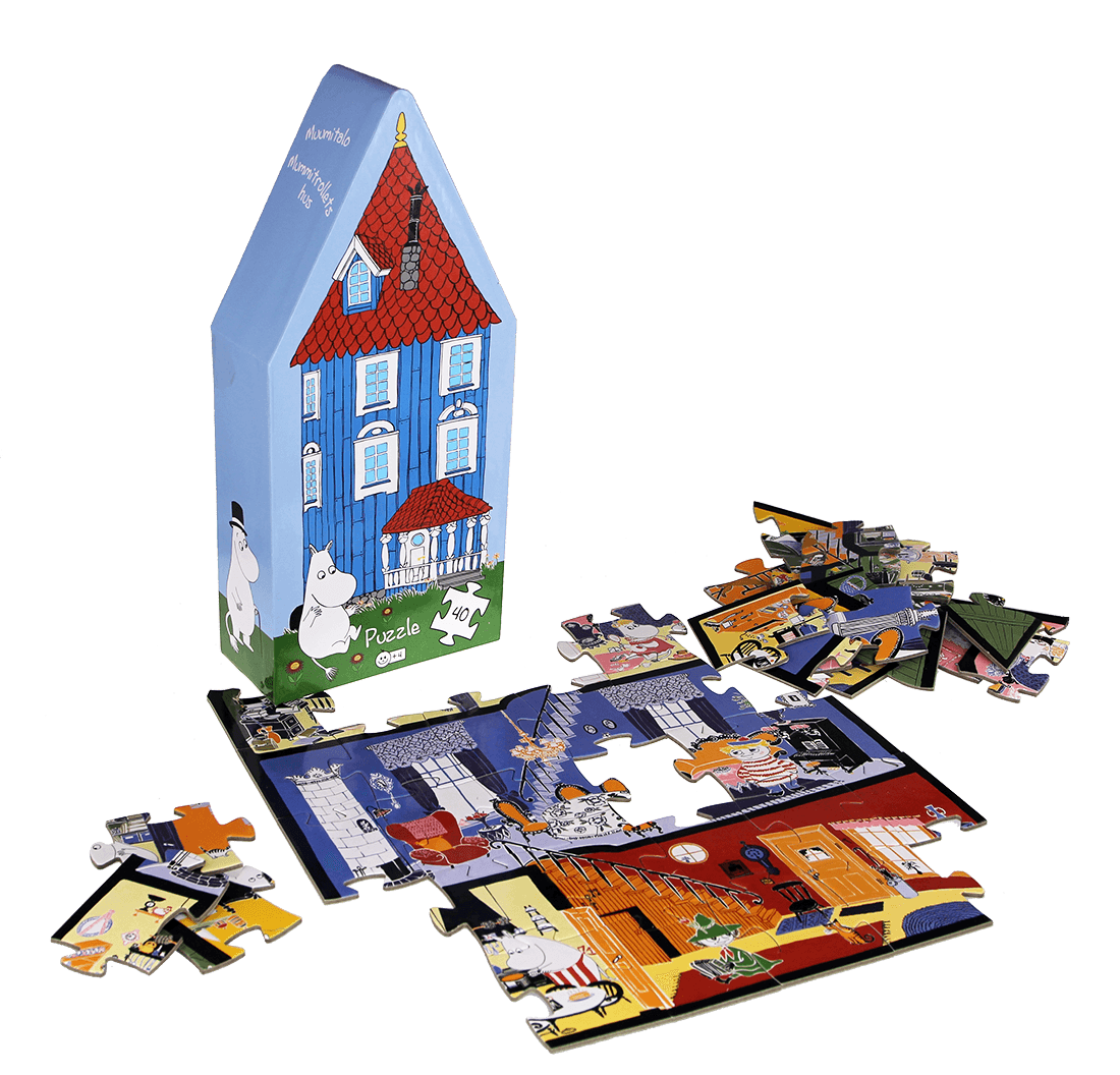 Jerusalem House Puzzle: Barbo Toys Deco Puzzle House » Moomin Products