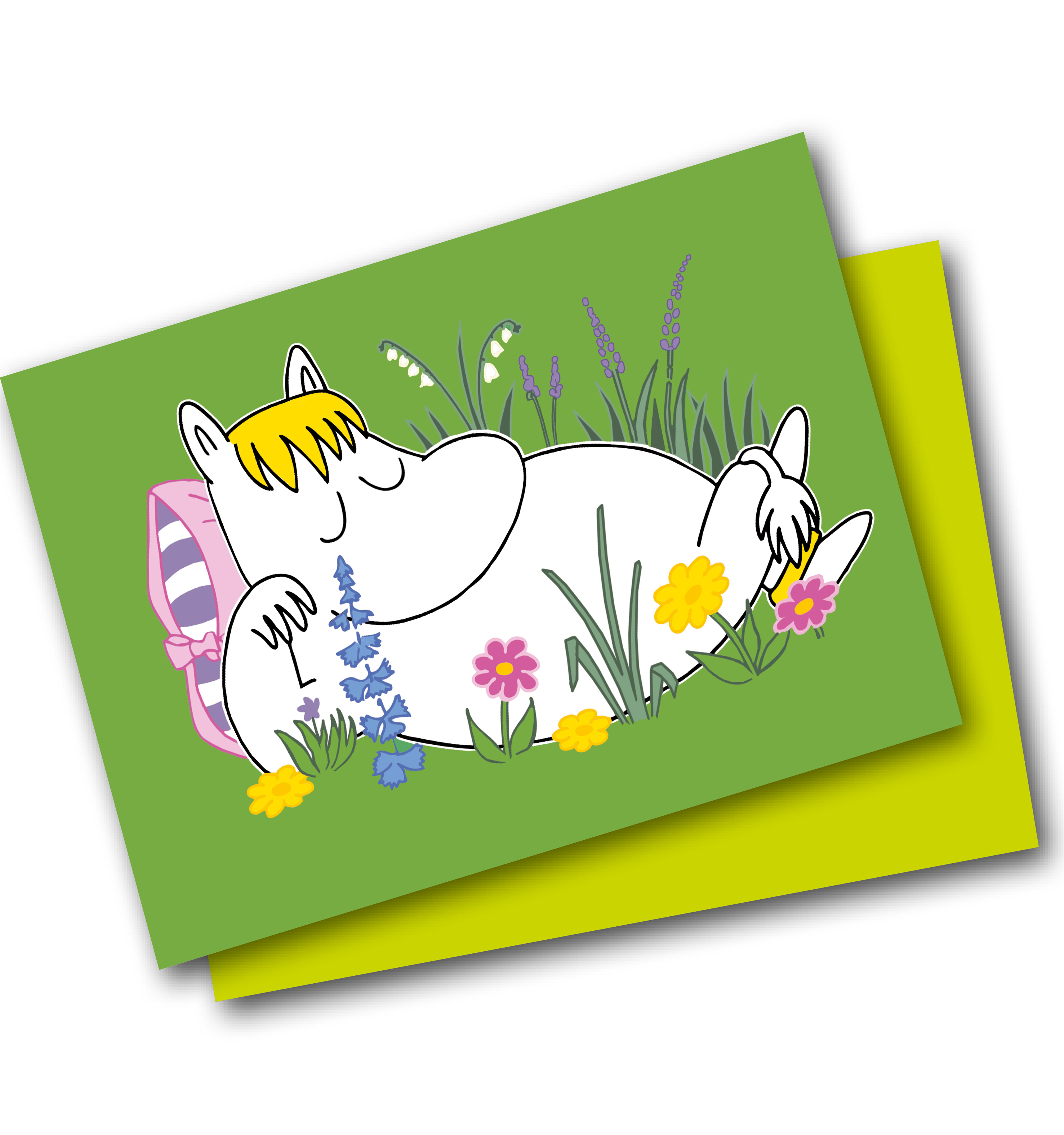 Lamberth - Moomin Mini Card
