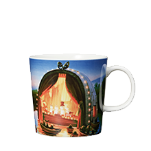 by Arabia Moomin mug 0,3L The Golden tale