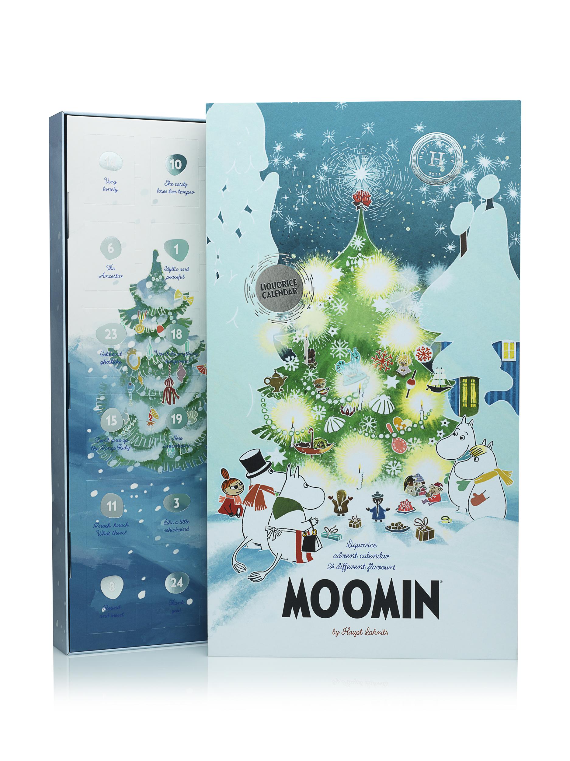 Haupt Lakrits - Moomin Advent calendar