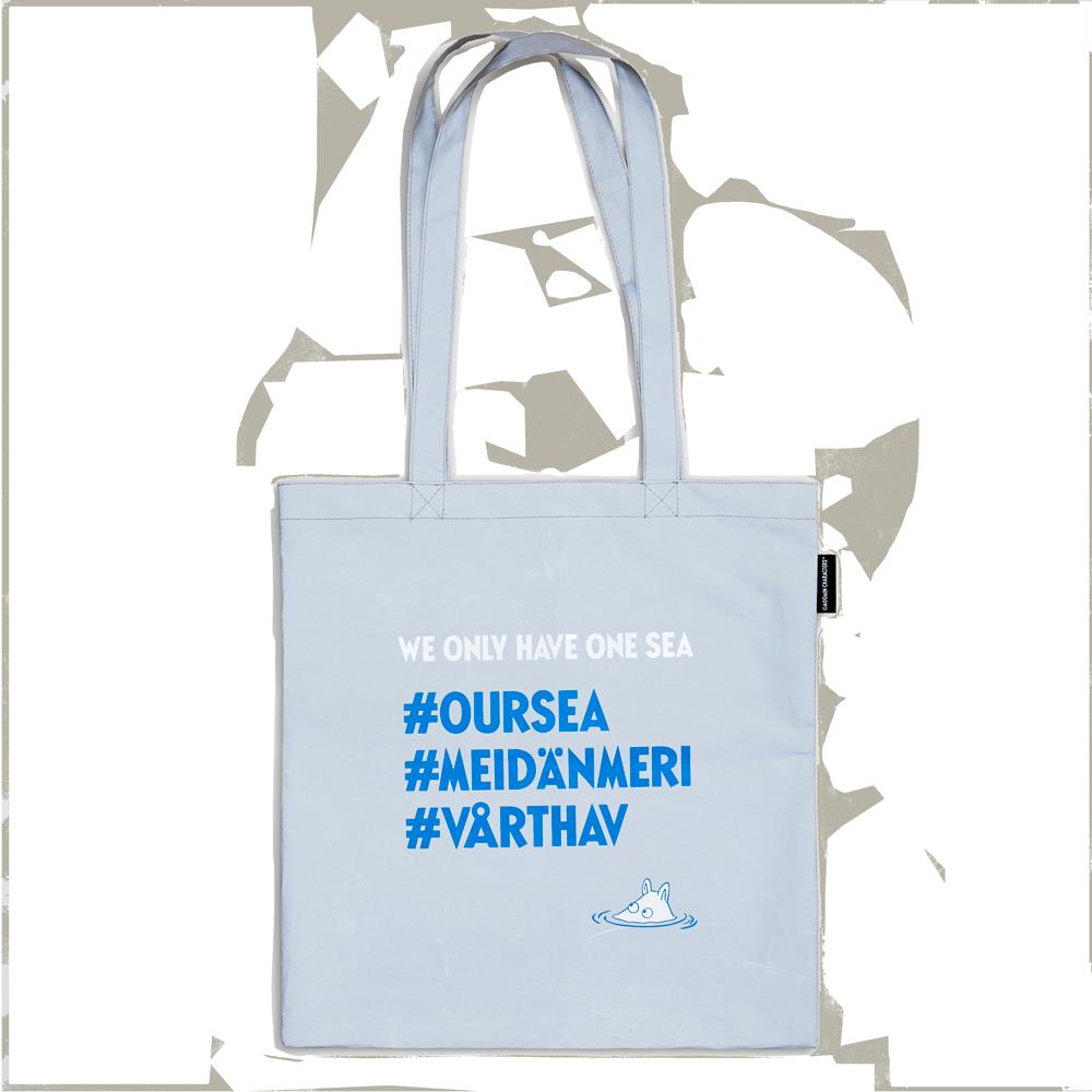 Reflective bag #OURSEA