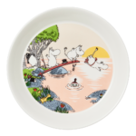 by Arabia Moomin plate 19cm Evening swim