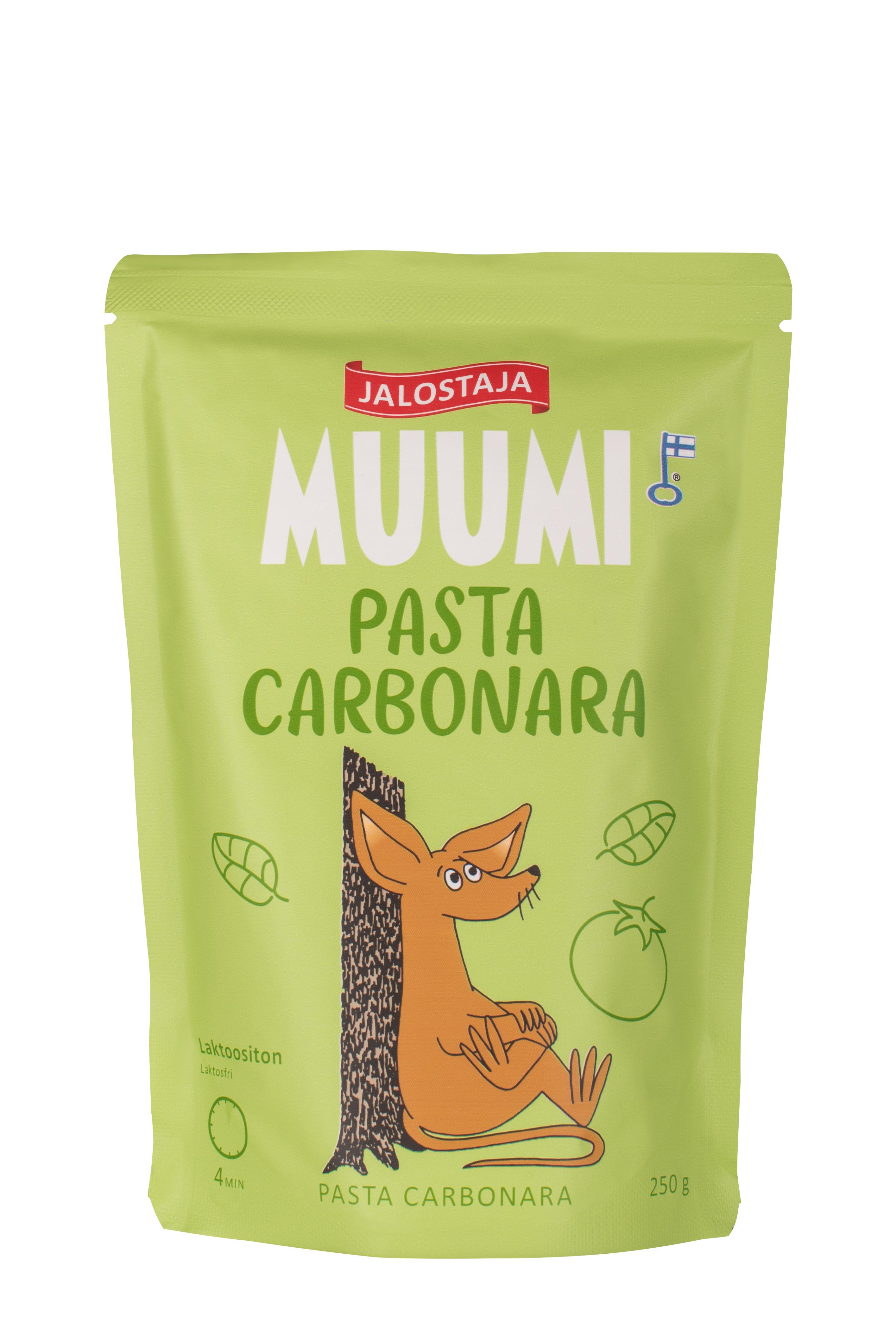 Jalostaja Muumi 250g Pasta Carbonara