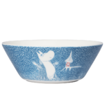 by Arabia Moomin bowl 15cm Light snowfall