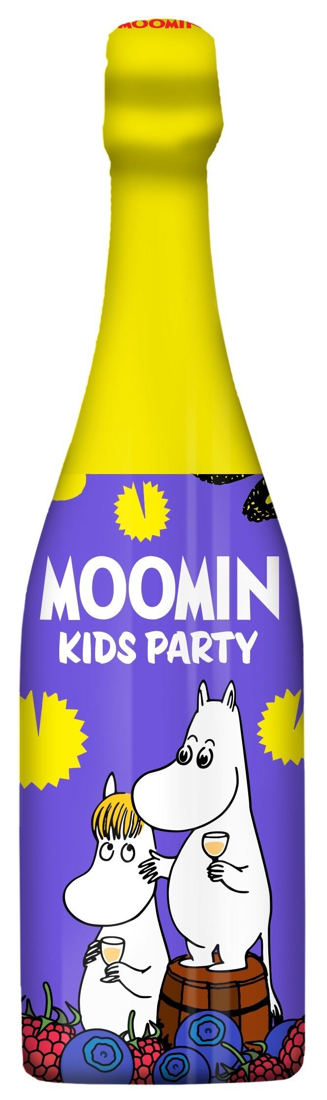 LASSO DRINKS Moomin Kids Party Drink Bilberry-Raspberry 75 cl