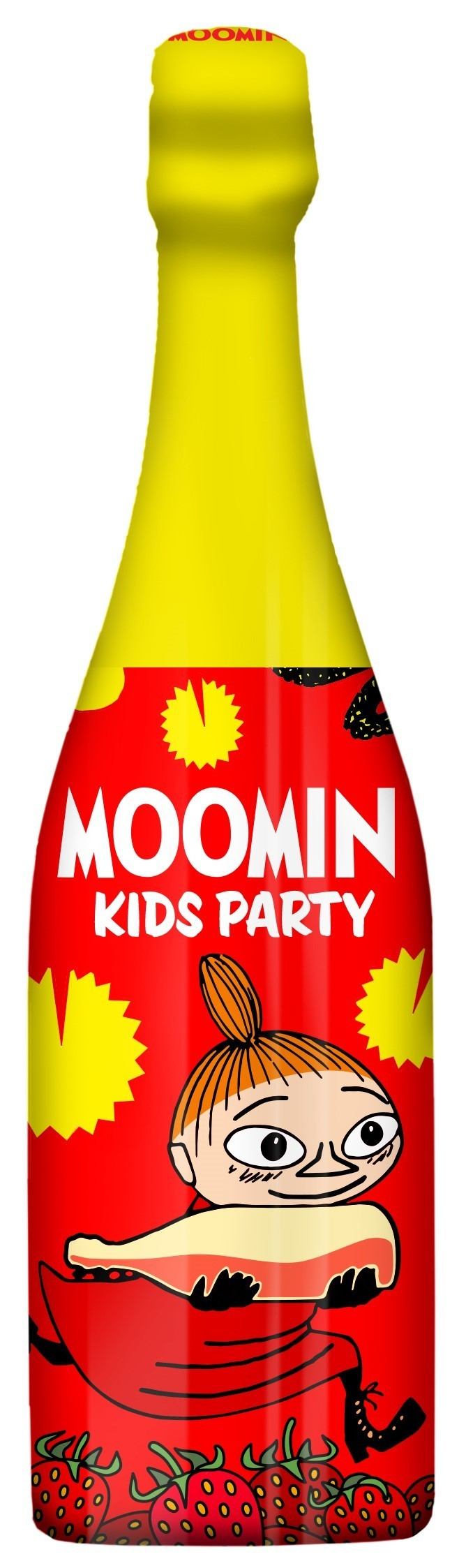 LASSO DRINKS Moomin Kids Party Drink Wild Strawberry 75cl