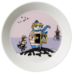 by Arabia Moomin plate 19cm Tooticky violet