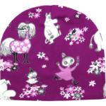 Stofflykke - Happy Fuchsia Moomin hat