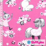 Stofflykke - Happy Candy Pink - Jersey fabric