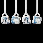 by Arabia Moomin minimug set Crown snow-load (set of 4pcs)