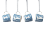by Arabia Moomin minimugs Light snowfall