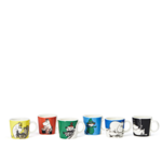 by Arabia Moomin minimug set 6pcs 1st classics