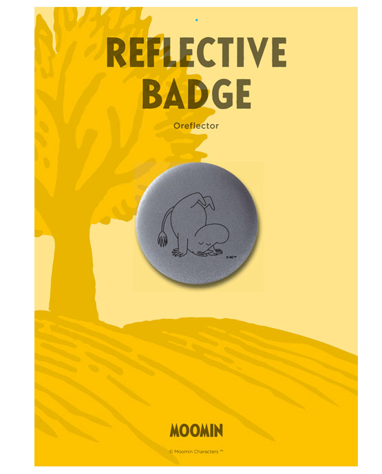 SeeME AS - Moomin II Oreflector badge