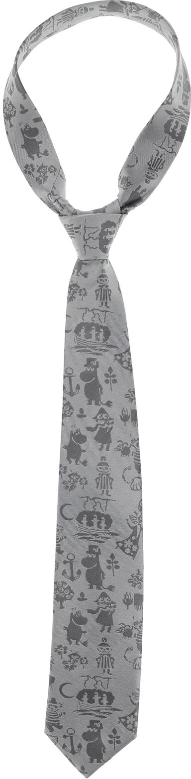 Lasessor woven necktie Summer grey