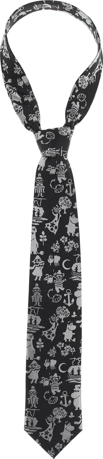 Lasessor woven necktie Summer black