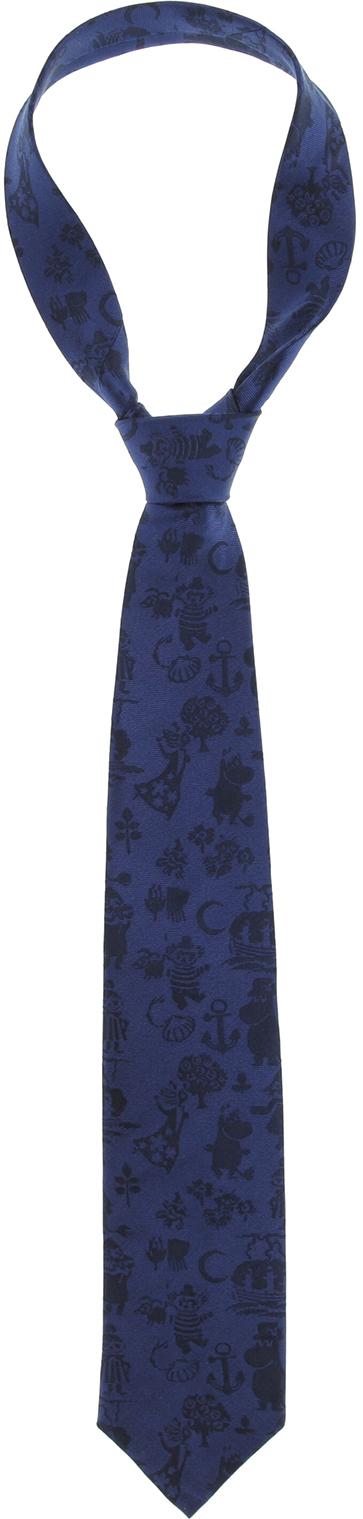 Lasessor woven necktie Summer blue